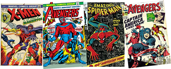 stan lee marvel covers