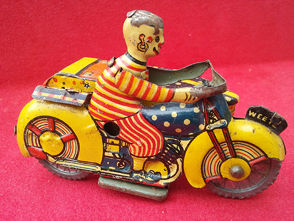 tinplate motorcycle