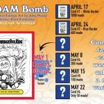 "GeePeeKay and hobbyDB Introduce: Adam Bomb Limited Edition ""Art by John Pound"" Sticker Card – Week 3"