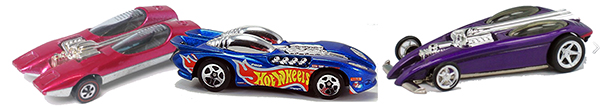 Hot Wheels Splittin' Image Original, II and II Premium