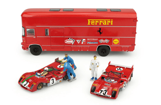 Brumm 1972 Race Transporter Set