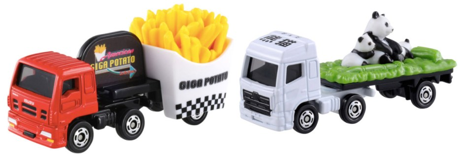 tomica panda truck