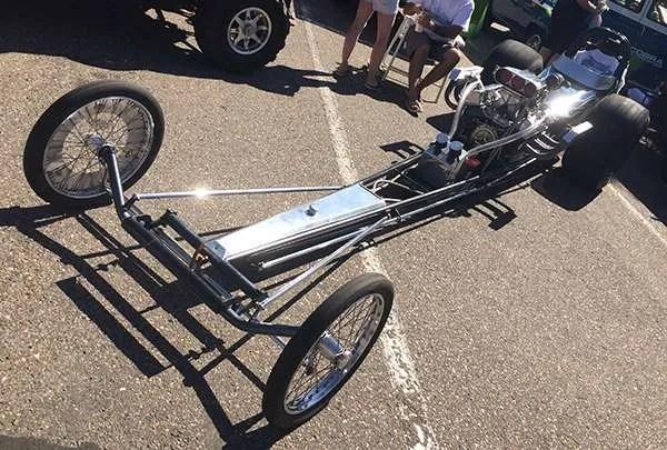 Hot Wheels Legends Tour Rail Dragster