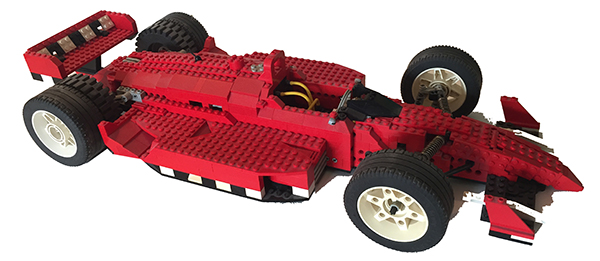 christmas lego indy car