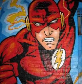 flash mural