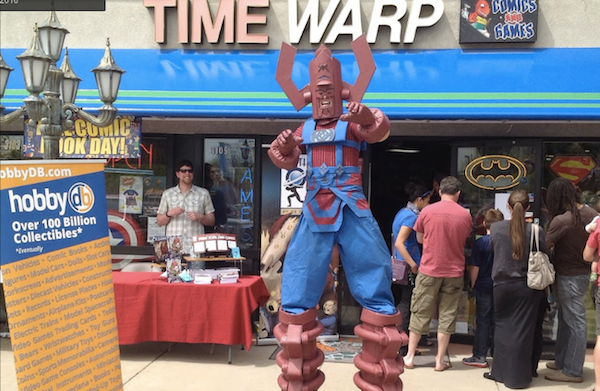 free comic book day time warp 1