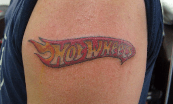 hot wheels tattoo