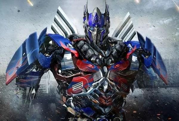optimus prime movie