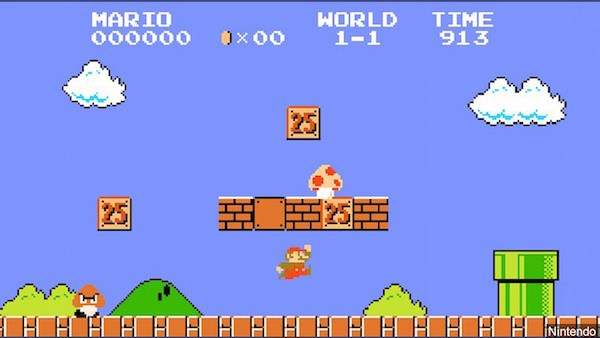 super mario bros screen