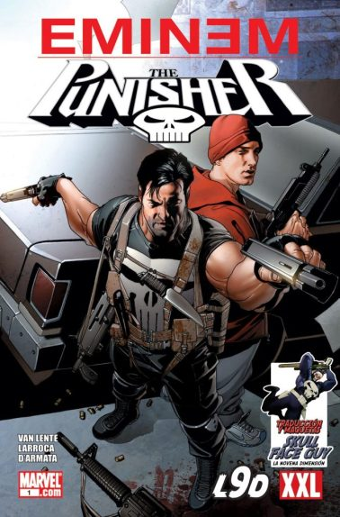 Weirdest comics eminem punisher