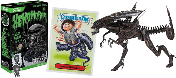 alien garbage pail kids