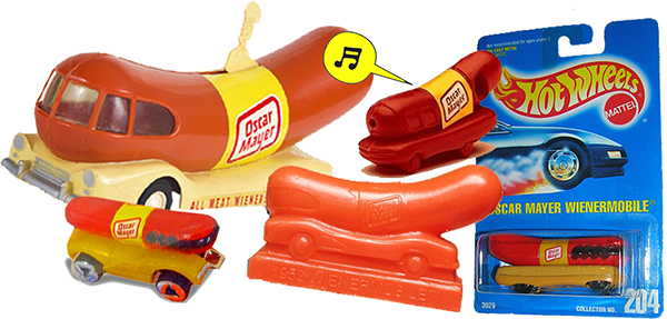 Oscar Mayer Weinermobile collecitlbes