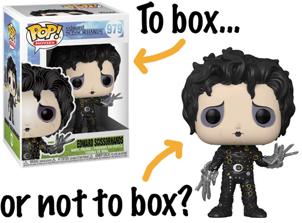 Edward scissorhands pop