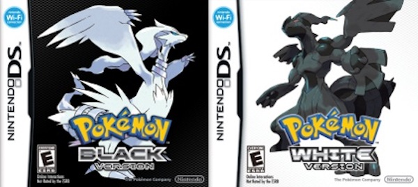 pokemon black white
