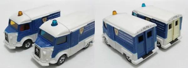 tomica citroen h truck