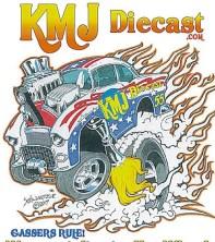 kmj diecast logo