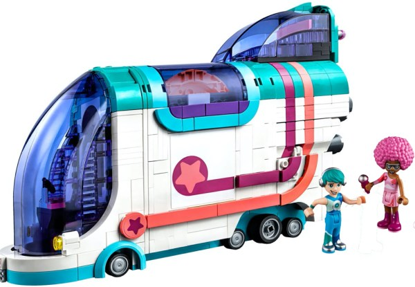 lego friends party bus