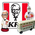 Finger Lickin' Good KFC and Colonel Sanders Collectibles on the hobbyDB Menu