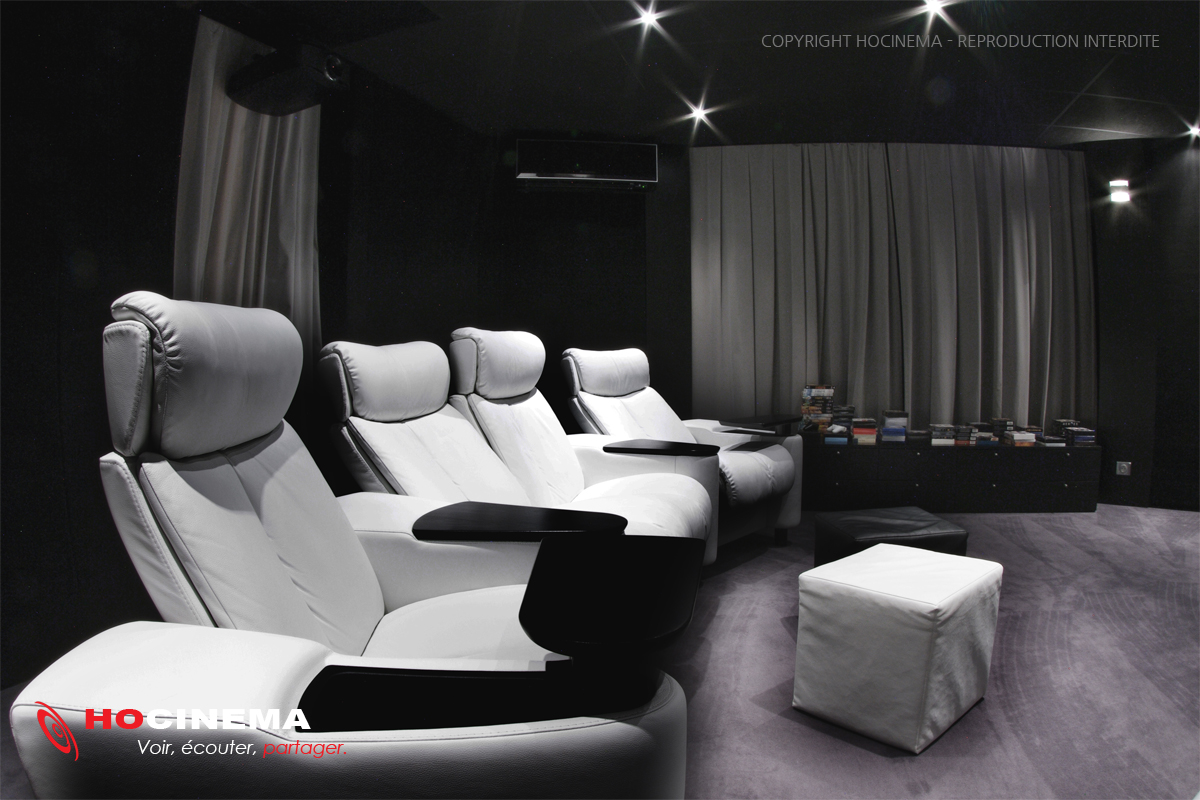 siege cinema maison best cinema prive cabanon with siege. Black Bedroom Furniture Sets. Home Design Ideas