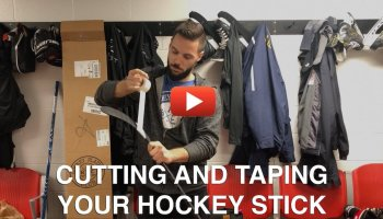 How To Tape Your Hockey Stick Blade Like Alexander Ovechkin Hockey Players Club Blog