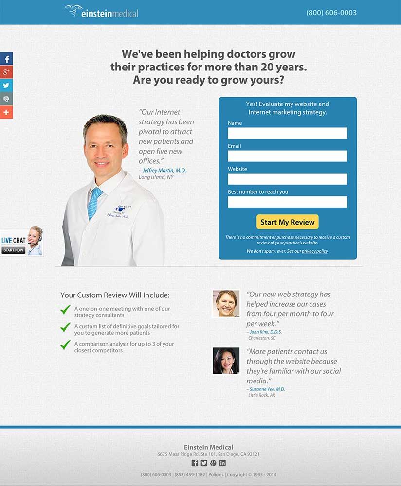 landing-page-einstein-medical