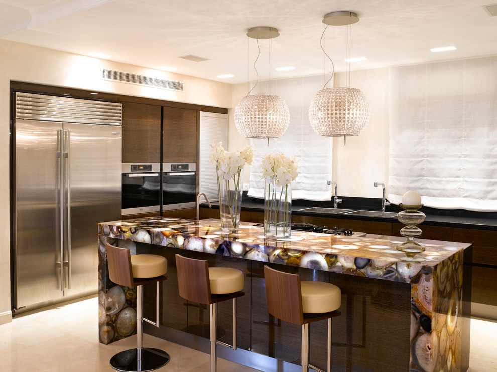 What's Hot in the Kitchen: Trends to Watch For In 2013 on Kitchen Counter Decor Modern  id=87401