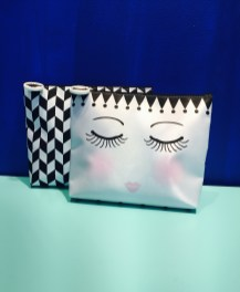 New material beauty bags