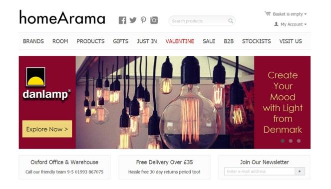Screen shot of website resized 2