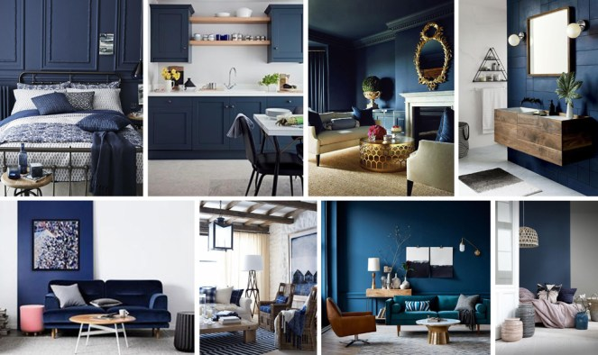 Navy Interiors Inspiration