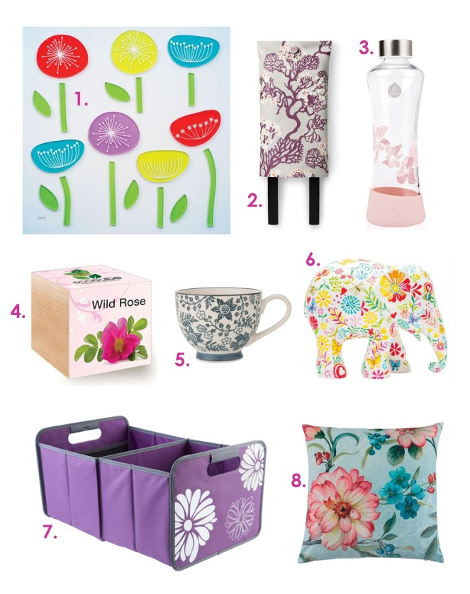 Floral Inspired Homwares