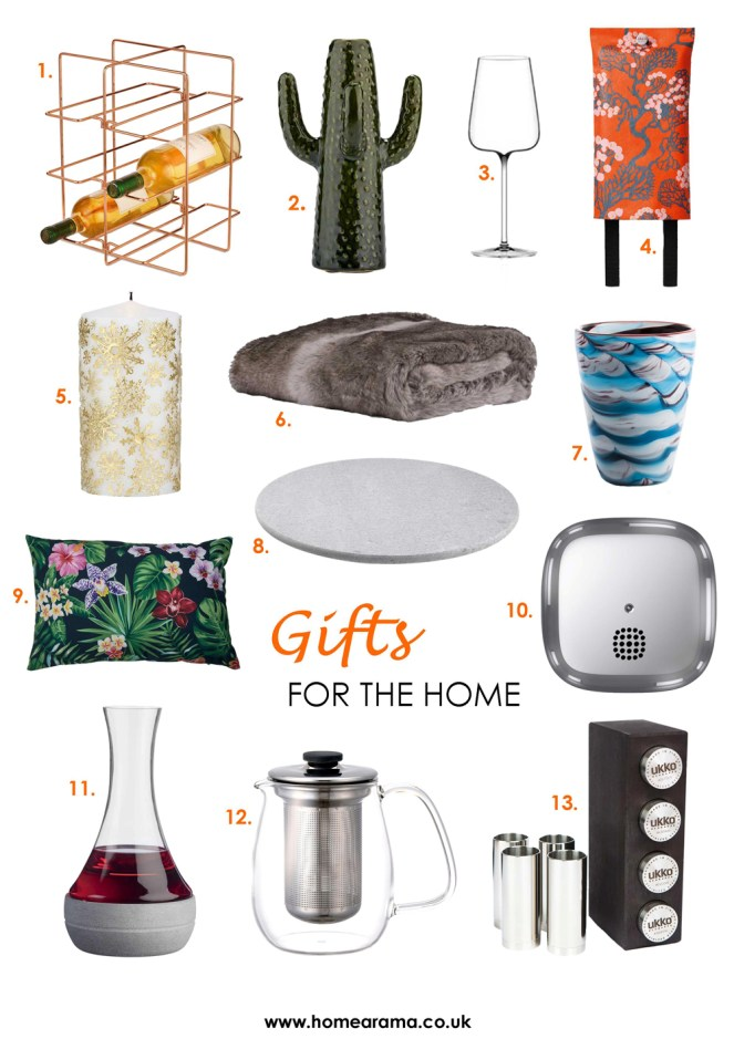 Christmas Gifts for the Home Lover Numbered