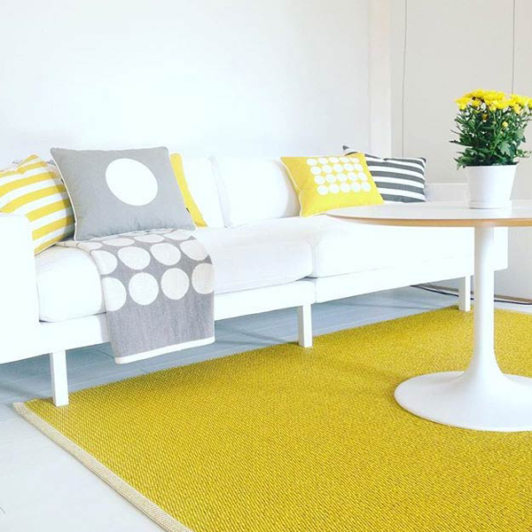 Yellow Interiors Pappelina Mono Mustard