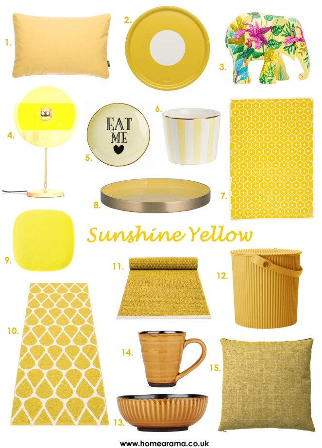 Yellow Interiors Decor
