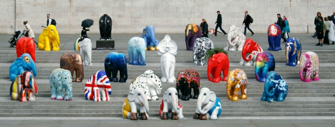 Elephant Parade Statues