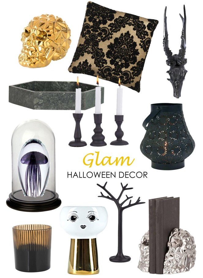 Glam Halloween Product Board