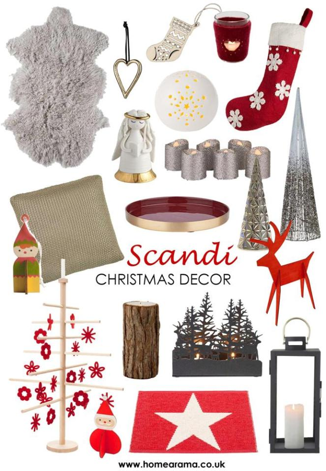 Scandi Christmas Products 2018