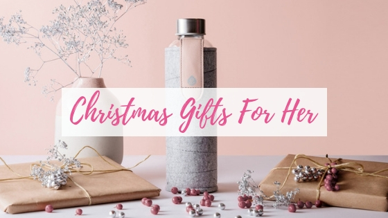 Gifts for Her Christmas Blog Title Image