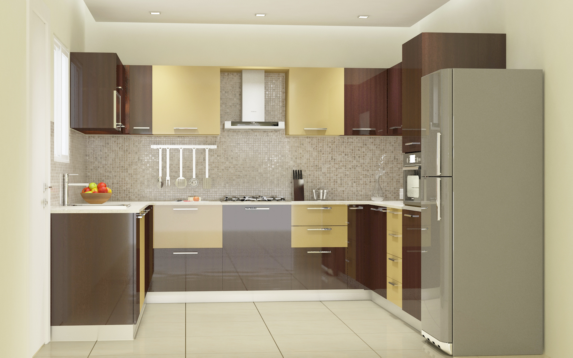 Modular Kitchen Designs 4 Ways To Go Glossy