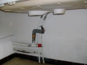 Arrivée générale cuisin et salle d'eau