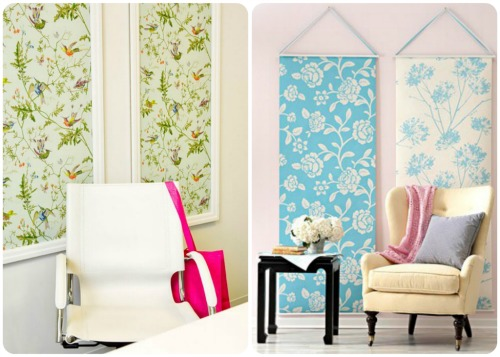 Wall Art Fabric Ideas