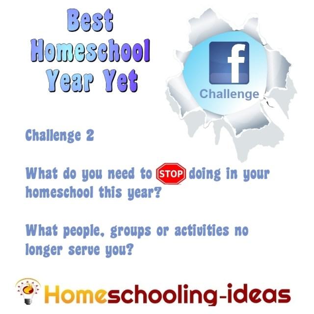 Best Homeschool Year Yet Challenge 2
