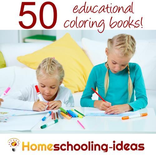 - 50 Kids Educational Coloring Books - Homeschooling Ideas Blog