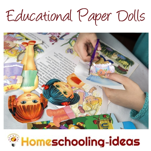Educational Paper Dolls for Homeschool