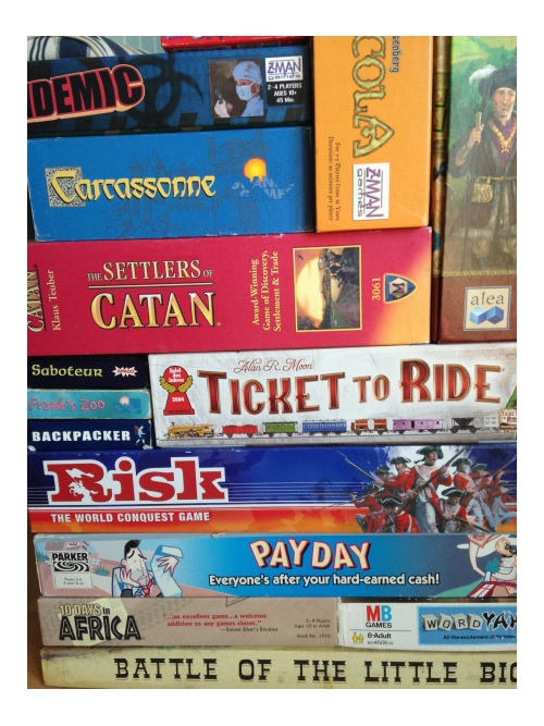 Homeschooling board games