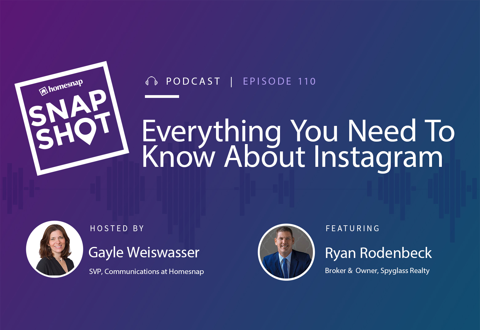 snapshot podcast instagram homesnap