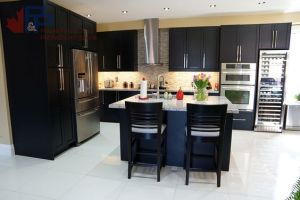 Renovated kitchen by P&P Renovations