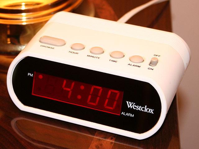 alarm clock phantom power