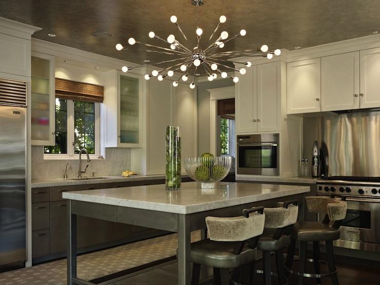 sputnik sculptural kitchen lighting