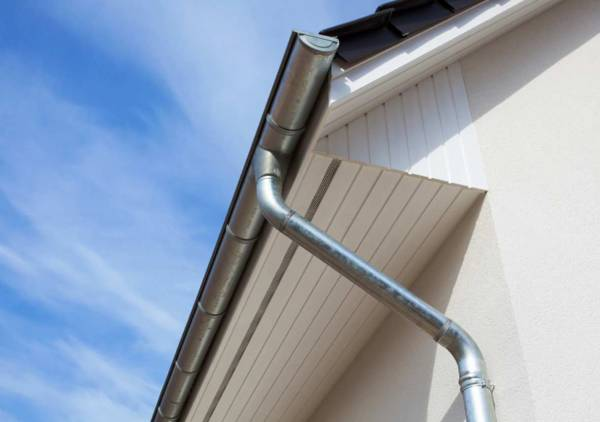 Stainless steel gutters