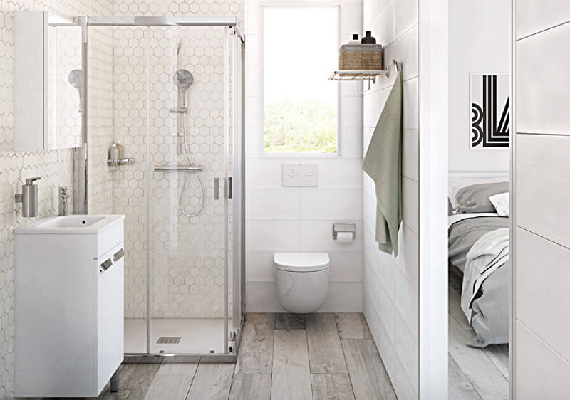 How To Make the Most Out of Your Small Bathroom on Small Area Bathroom Ideas  id=39688